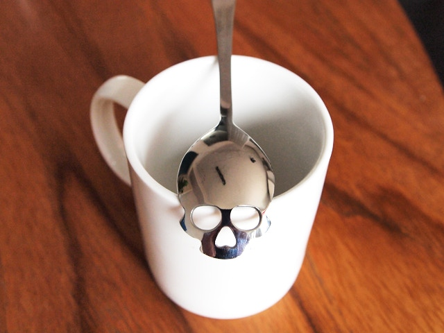 Tea Spoon close up