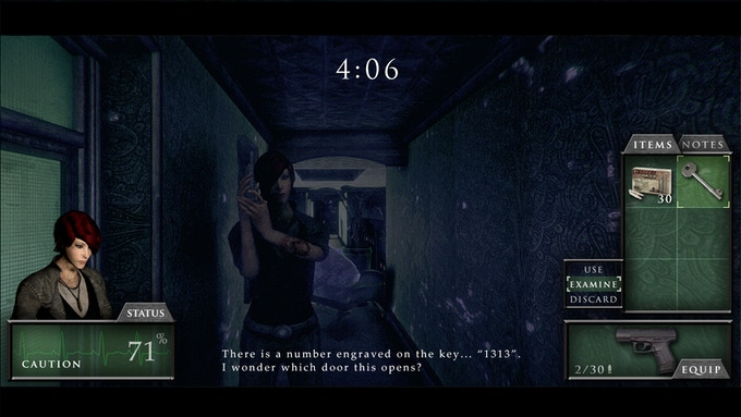 We wanted to stay true to the classic survival horror inventory, however this is in real time and can be toggled on or off.