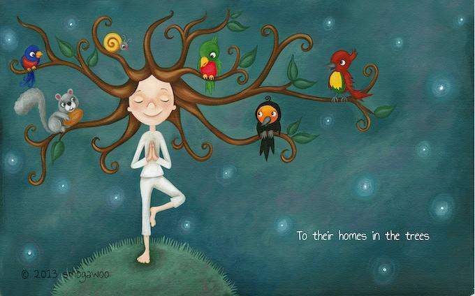 Good Night Yoga By Mariam Gates Kickstarter