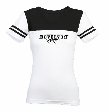 Girls Roller Derby Version of the Revolver T-shirt