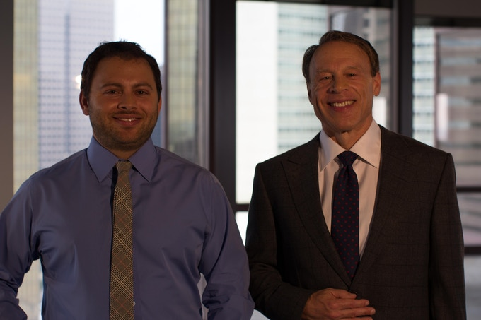 Director of Engineering Richard Margolin & CEO Fred Margolin