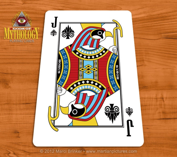 Bicycle Gods of Mythology Playing Cards by Collectable Playing Cards