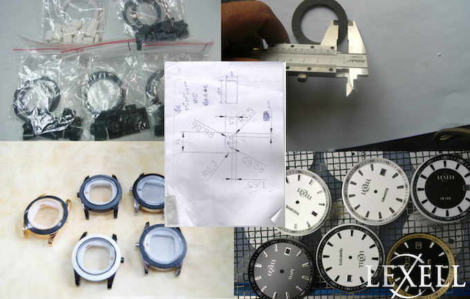 And finally, a watch factory that understood our desire to create truly one of a kind pieces and worked with us to create prototype after prototype.