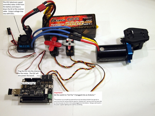 ServoShock Remote Servo and I/O Controller by Cross Product