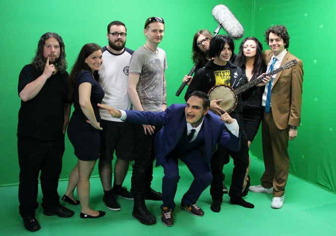 Cast & Crew of the Banjo promotional trailer