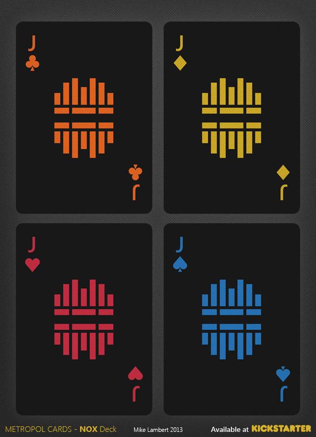 Metropol NOX Playing Cards by Mike Lambert — Kickstarter