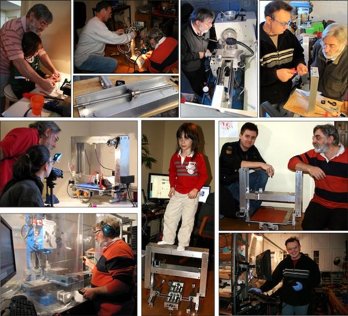 The 3DMonstr team at work.