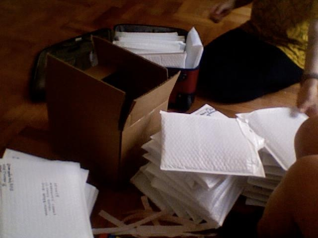 shipping copies of Vol. I