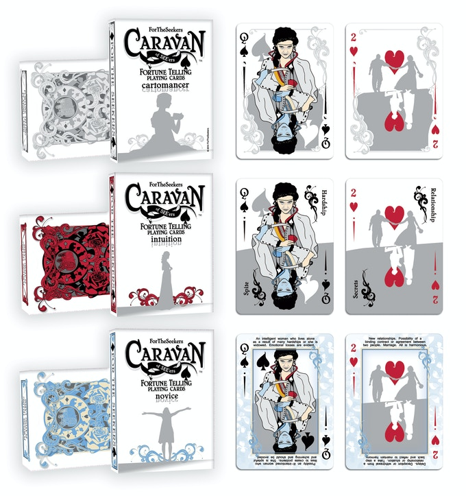 Caravan of SEE'ers Custom Playing Cards by Jennifer Kast