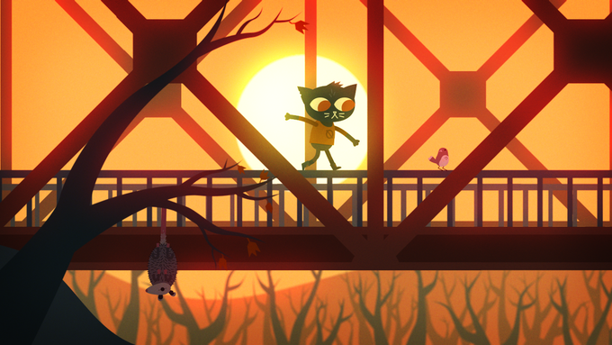 Night In The Woods By Infinite Fall Kickstarter