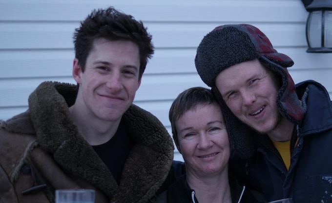Tyler Steeves, Robin Hughes and Phillip Craig.