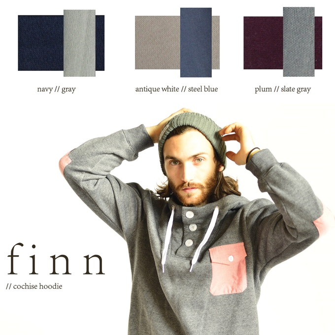 The Cochise Hoodie Color Options