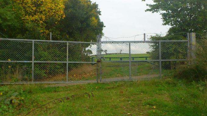 Compound Exit Gate