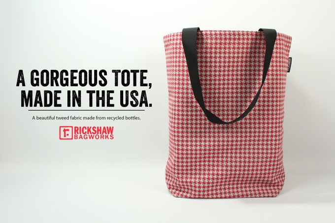 Each bag will be manufactured right here in San Francisco.