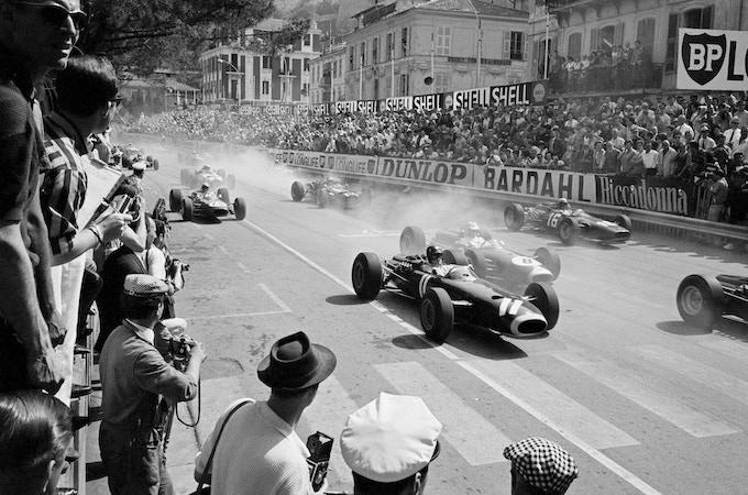 "Grand Prix of Monaco Start, Monaco, 1966.   ***Limited Edition Platinum Print 20""x24""***"