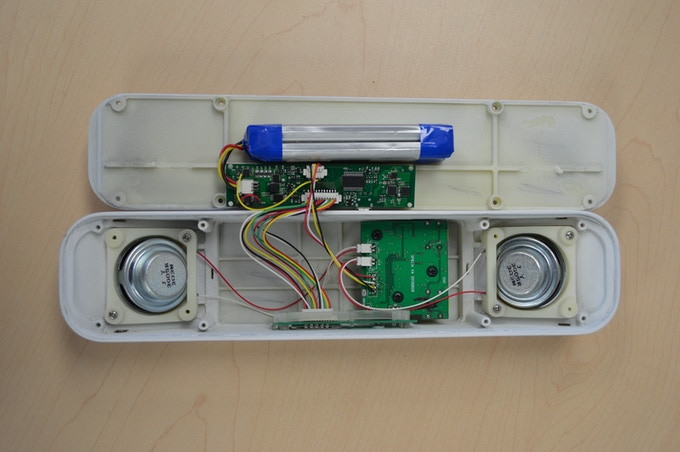A view of the PowerSound internals