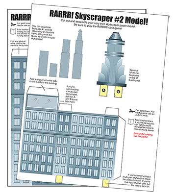 RARRR!!! Monster-Building, City-Stomping Card Game (Reboot!) by APE