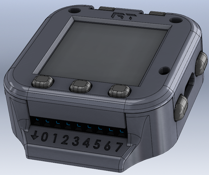 Oscilloscope Watch Enclosure