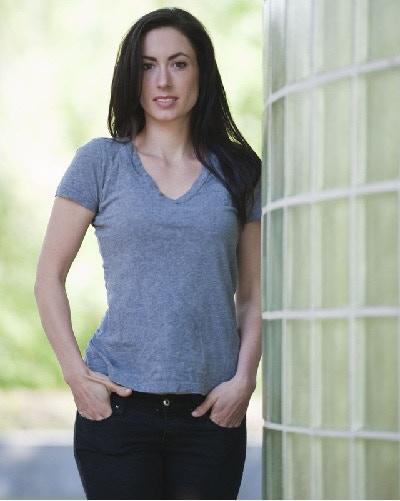 Kathrine plays Rina, no-nonsense lawyer who falls victim to the plague
