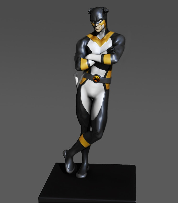 Stray - 3D Rendering for Statue (available as a $300 Reward Tier)