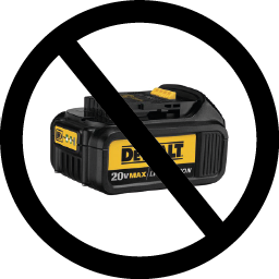 PoweriSite does not fit this type of Dewalt battery at this time.