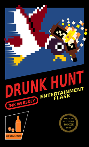 Drunk Hunt -- Warning, DO NOT TRY THIS AT HOME! You'll probably just waste good product and miss the duck anyway...