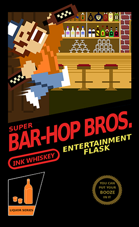 Super Bar-Hop Bros. -- Edward Forty Hands is a thing of the past. Now you have to jump around and find the free life.