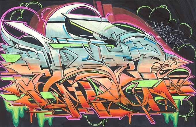 Else Graffiti Piece