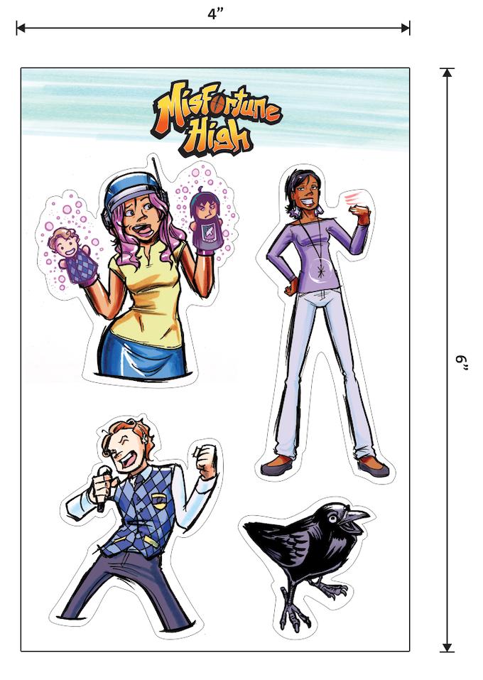 Sticker Sheet Preview