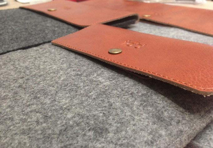 100% leather and wool range