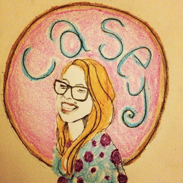 Casey has a donut halo!