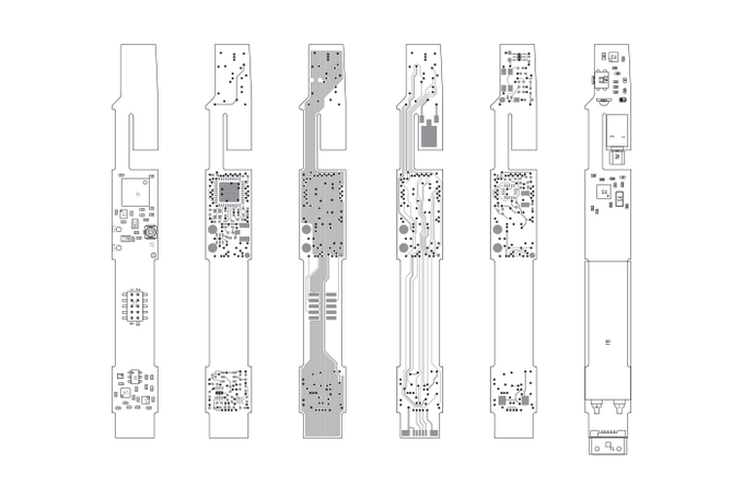 PCB layout for alpha build