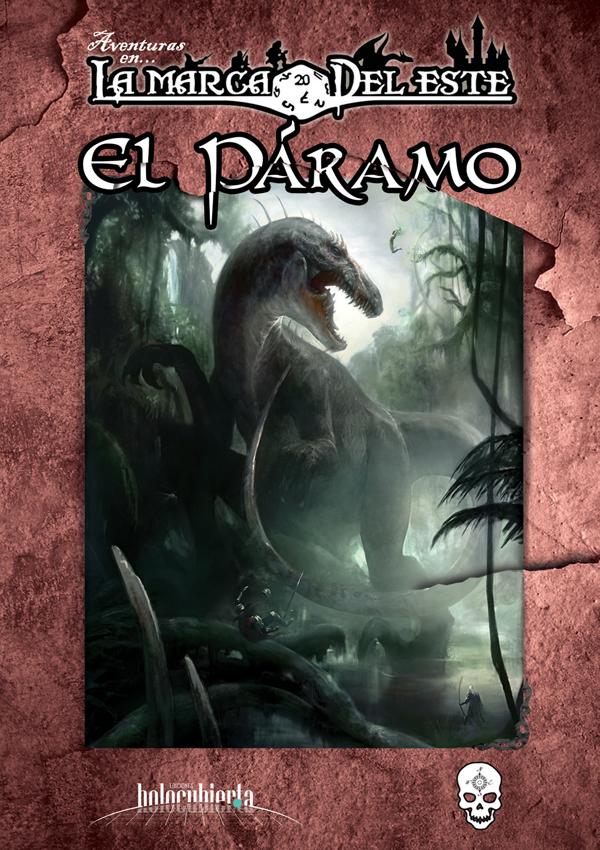 """Original Spanish Edition Cover for """"El Páramo"""""""