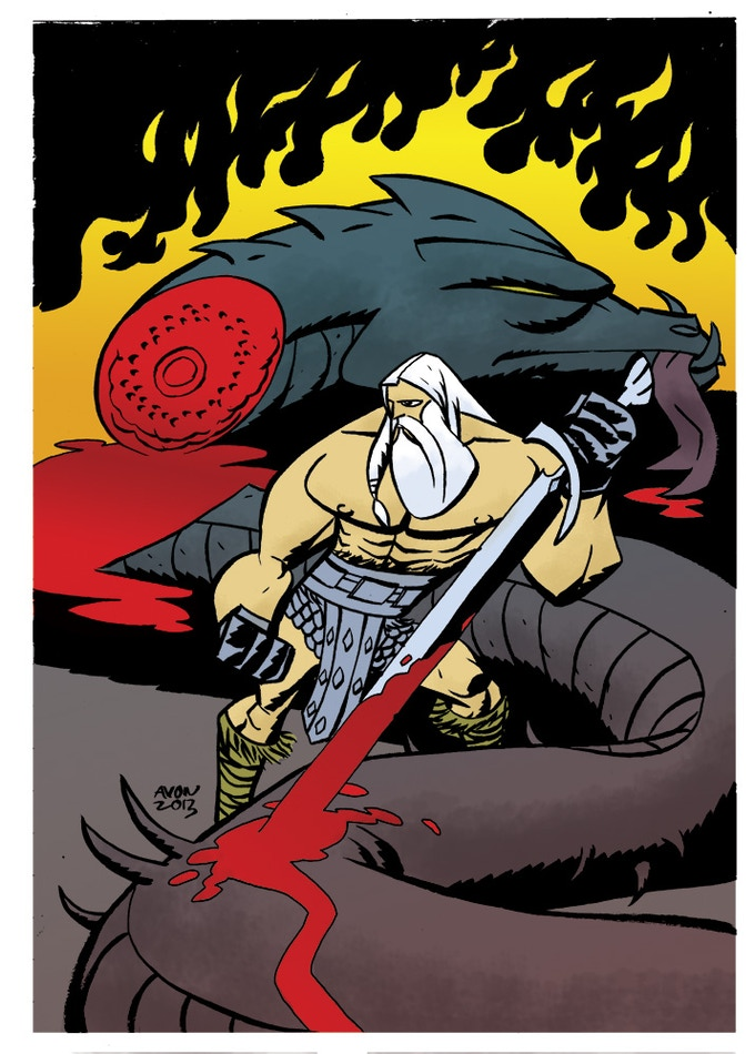 HEAD LOPPER by MICHAEL AVON OEMING
