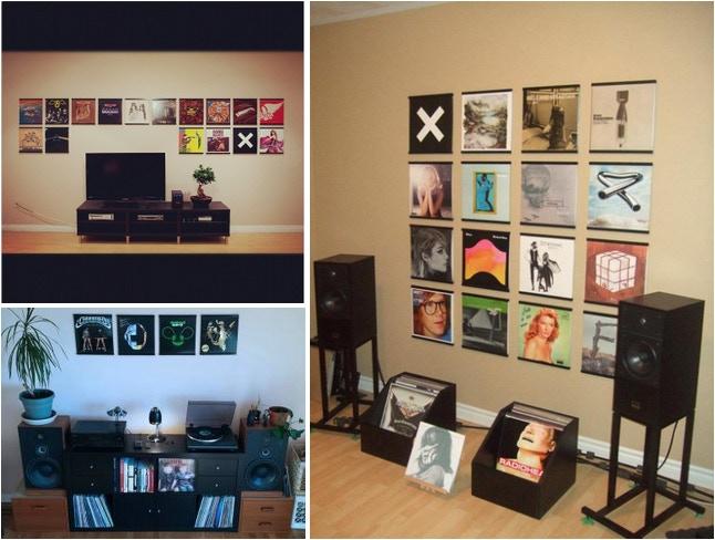 Creative Ways To Display Quotes: RecordsOnWalls: Vinyl Record Frames By Steve Holub
