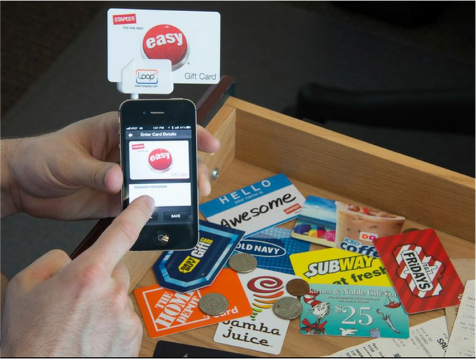 Store, organize, and use the cards in your wallet and drawers.