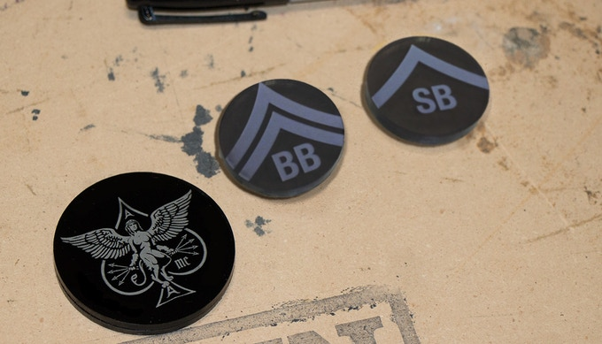 Custom Dealer Button Or Card Protector And Blind Markers
