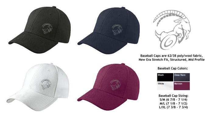 "Baseball Caps from the ""Tree Line"" Reward Level"