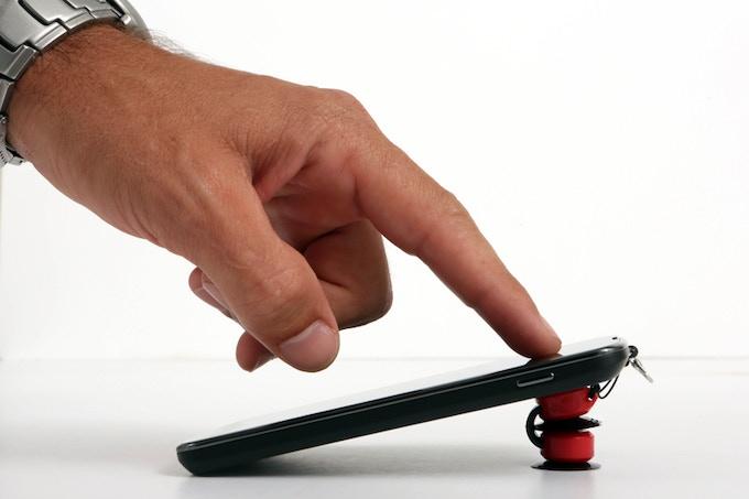 STICKO, a tiny sticky phone mount by Gal & Boaz Zucker —Kickstarter