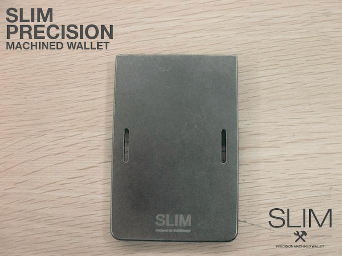 Stone-Tumbled Titanium SLIM