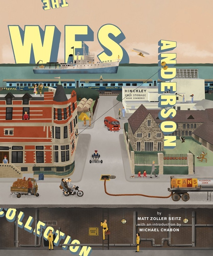 "For the $150 reward level you will receive a signed copy of renowned film & television critic Matt Zoller Seitz' new book ""THE WES ANDERSON COLLECTION"" / At the $750 level, you will be able to sit down with Matt for an hour & talk all things film!"