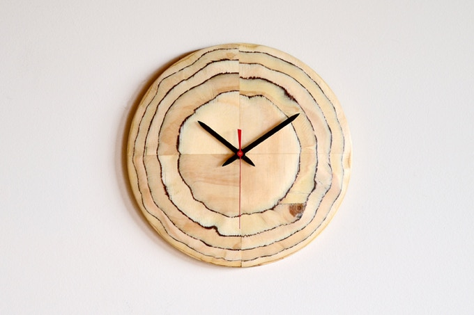 The Four Panel a/Ply Clock