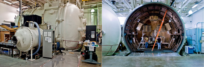 Michigan's Large Vacuum Test Facility will be our proving ground. This is the same facility used to test lunar rovers in the 60's, upgraded for electric propulsion testing. Some funding will cover expenses related to using these University resources.