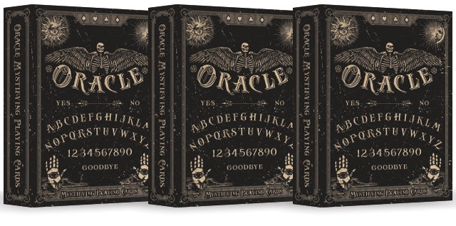 Oracle Mystifying Playing Cards By Chris Ovdiyenko