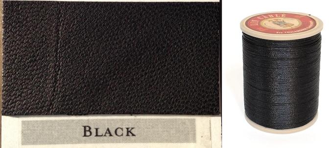 Black Thread & Leather
