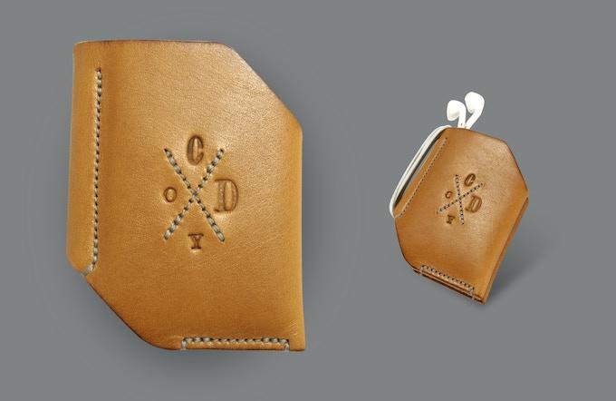 Whitworth bi-fold wallet. Almond.
