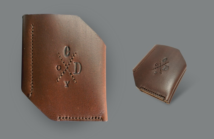 Whitworth bi-fold wallet. Brown.