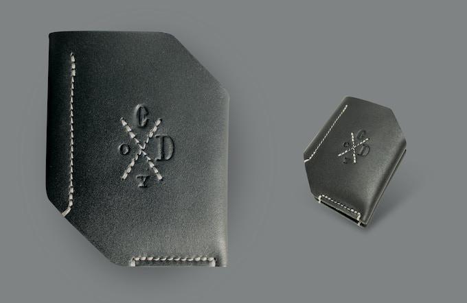 Whitworth bi-fold wallet. Black.