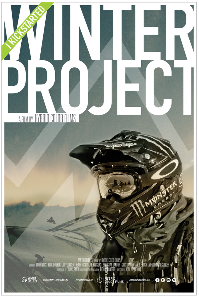 Winter Project Poster Series Version 1