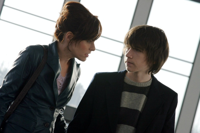 Parker Posey as Fay Grim and Liam Aiken as Ned in FAY GRIM (2007)
